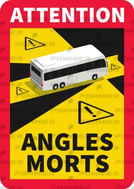 Stickers angles morts pour BUS (1)